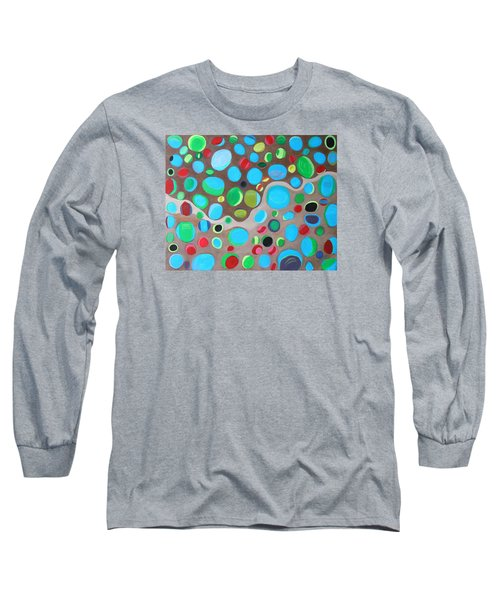 Riches Of People On Earth  Long Sleeve T-Shirt by Lorna Maza