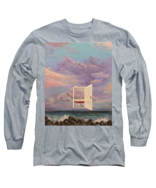 Right Where It's Always Been Long Sleeve T-Shirt