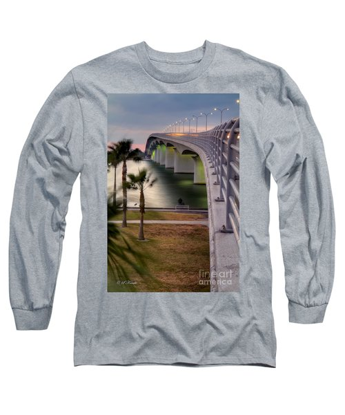 Ringling Causeway Bridge Overlook Long Sleeve T-Shirt