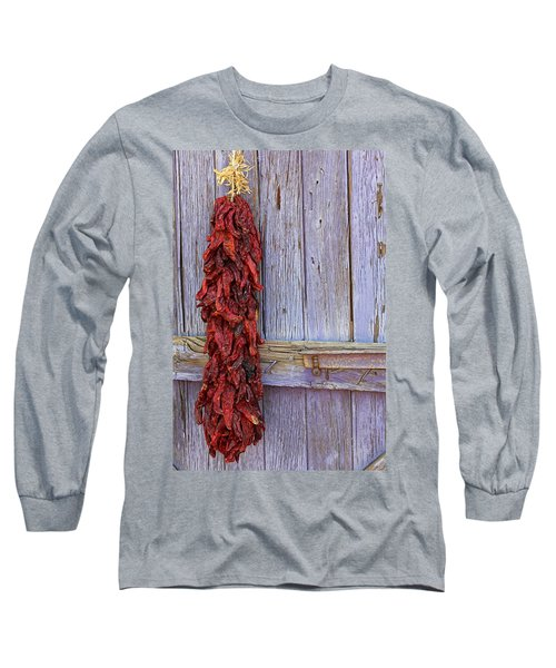 Long Sleeve T-Shirt featuring the photograph Ristra by Lynn Sprowl