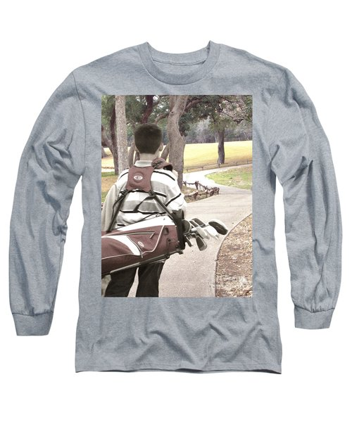 Long Sleeve T-Shirt featuring the photograph Road To Success - Inspirational Art by Ella Kaye Dickey