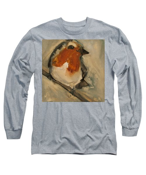 European Robin Long Sleeve T-Shirt