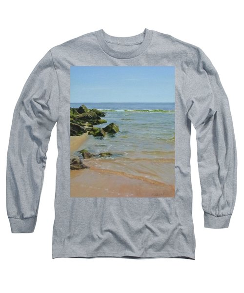 Rocks And Shallows Long Sleeve T-Shirt