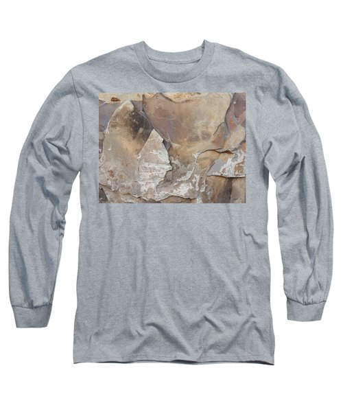 Long Sleeve T-Shirt featuring the photograph Rocky Edges by Jason Williamson