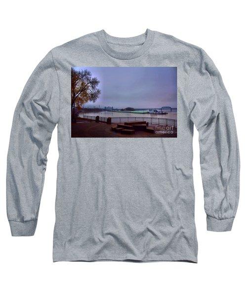 Long Sleeve T-Shirt featuring the photograph Rollin Onna River by Robert McCubbin