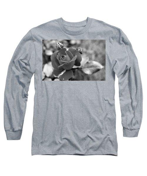 Rose Of Grace Long Sleeve T-Shirt by Faith Williams