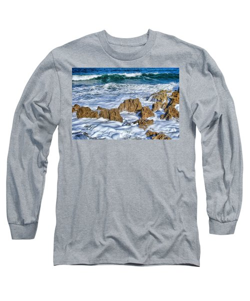 Long Sleeve T-Shirt featuring the photograph Ross Witham Beach Stuart Florida by Olga Hamilton