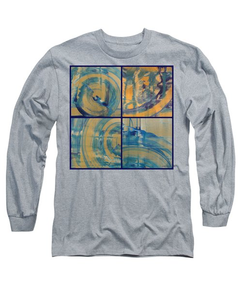 Long Sleeve T-Shirt featuring the photograph Rotation Part One by Sir Josef - Social Critic - ART