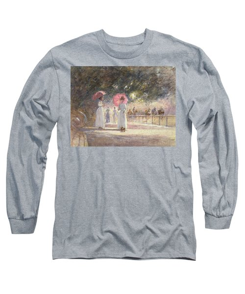 Rotten Row Long Sleeve T-Shirt by Harry Fidler