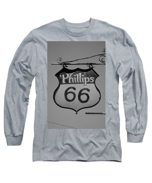 Route 66 - Phillips 66 Petroleum Long Sleeve T-Shirt