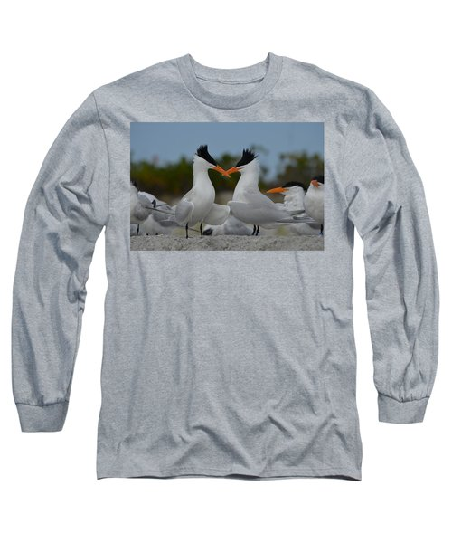 Bills Crossed Long Sleeve T-Shirt