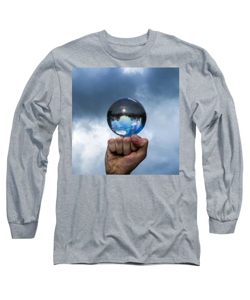 Rule The World - Featured 3 Long Sleeve T-Shirt by Alexander Senin