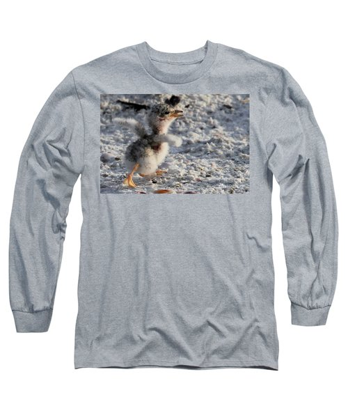 Running Free - Least Tern Long Sleeve T-Shirt