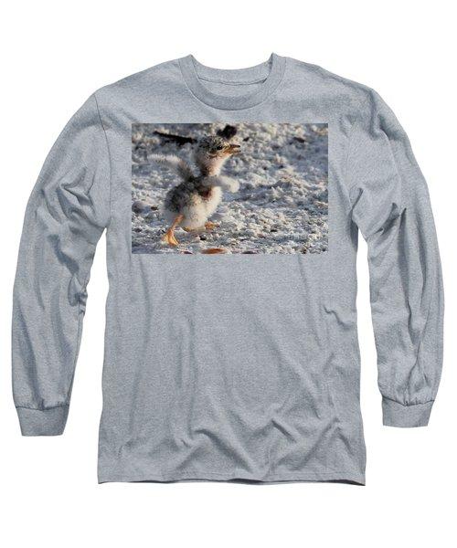 Running Free - Least Tern Long Sleeve T-Shirt