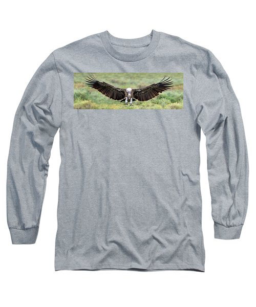 Ruppells Griffon Vulture Gyps Long Sleeve T-Shirt by Panoramic Images