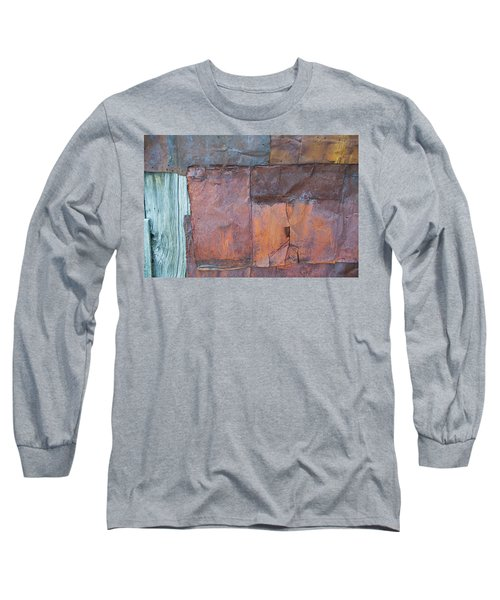 Rust Squared Long Sleeve T-Shirt