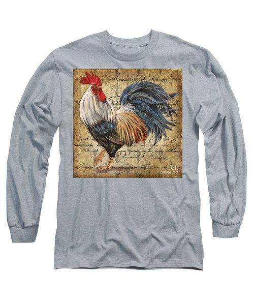 Rustic Rooster-jp2119 Long Sleeve T-Shirt