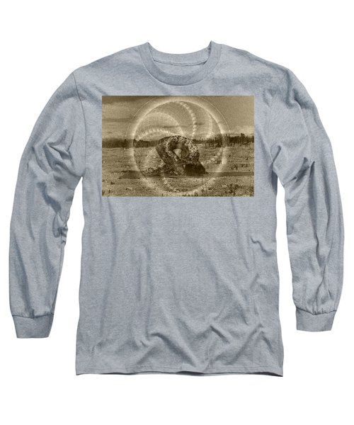 Sacred Rabbit Long Sleeve T-Shirt by Deprise Brescia