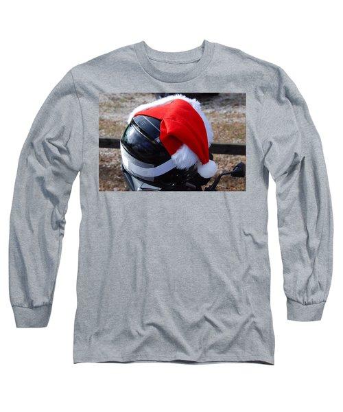 Safety First Santa Long Sleeve T-Shirt