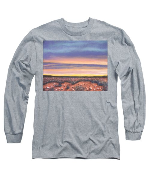 Sagebrush Sunset A Long Sleeve T-Shirt