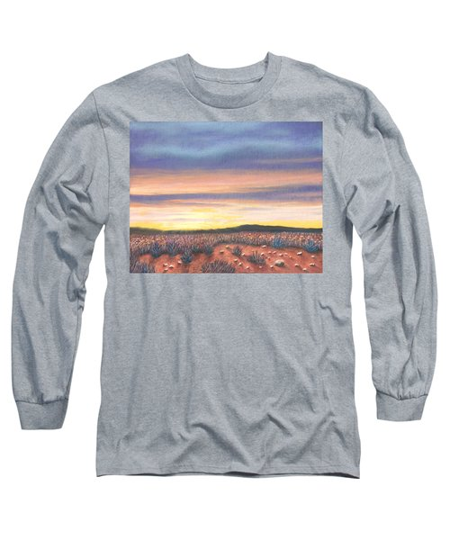 Sagebrush Sunset B Long Sleeve T-Shirt