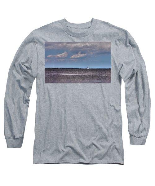 Long Sleeve T-Shirt featuring the photograph Sailing by Sennie Pierson