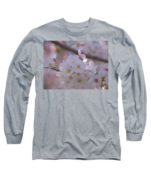 Sakura Long Sleeve T-Shirt by Rachel Mirror