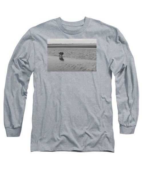 Long Sleeve T-Shirt featuring the photograph Sally V by Cassandra Buckley