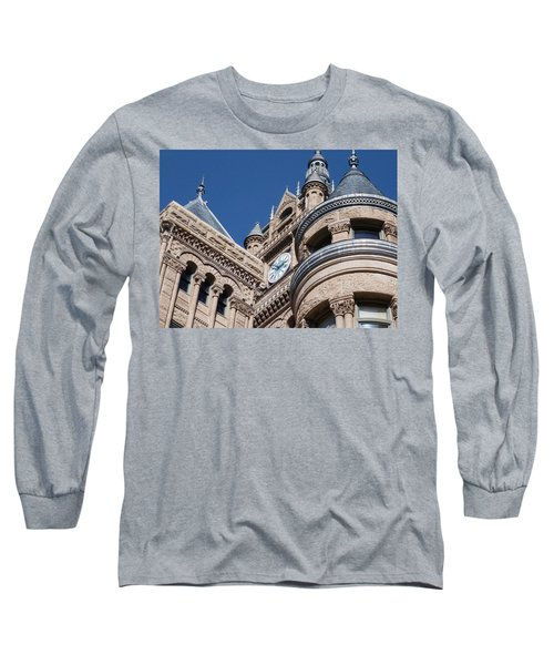 Long Sleeve T-Shirt featuring the photograph Salt Lake City - City Hall - 1 by Ely Arsha