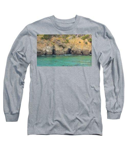Salt Point Sea Caves Long Sleeve T-Shirt