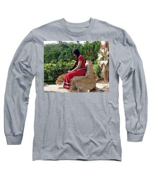 Samoa's Beauty Long Sleeve T-Shirt
