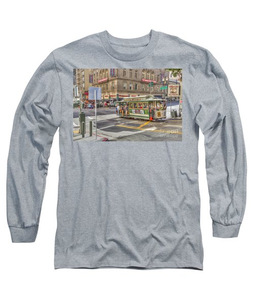 San Francisco Cable Car Long Sleeve T-Shirt