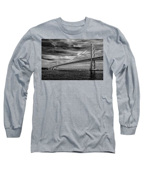 San Francisco - Oakland Bay Bridge Long Sleeve T-Shirt