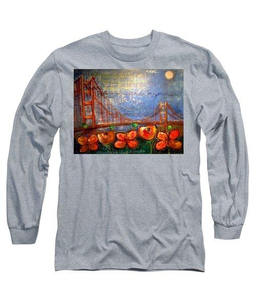 San Francisco Poppies For Lls Long Sleeve T-Shirt