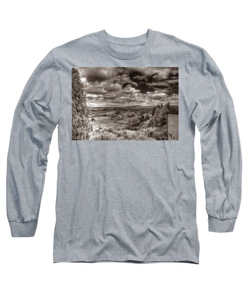 San Gimignano View Long Sleeve T-Shirt
