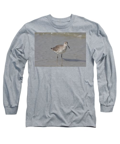 Long Sleeve T-Shirt featuring the photograph Sandpiper by Christiane Schulze Art And Photography