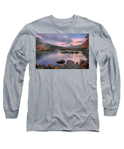 Sandstone Falls At Dawn Long Sleeve T-Shirt