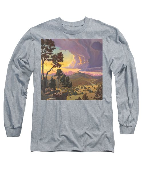 Santa Fe Baldy - Detail Long Sleeve T-Shirt