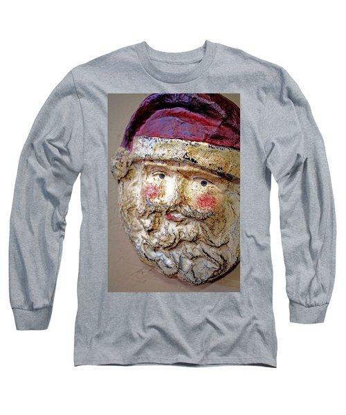 Long Sleeve T-Shirt featuring the photograph Santa by Lynn Sprowl