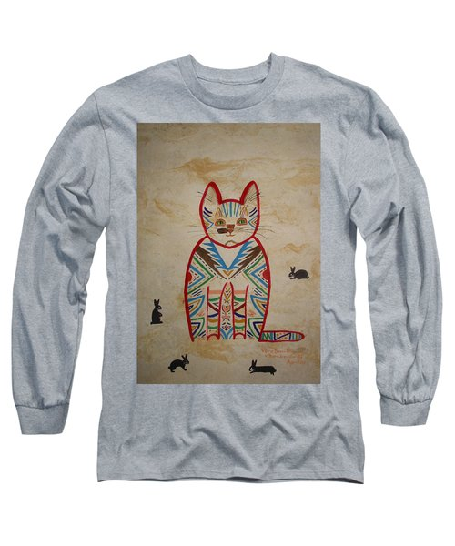 Sarah's Cat Long Sleeve T-Shirt