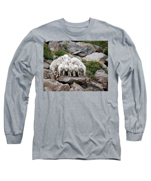 Long Sleeve T-Shirt featuring the photograph Say Cheese by Jim Garrison