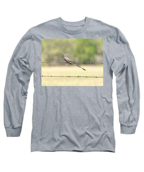 Scissor-tailed Flycatcher Long Sleeve T-Shirt