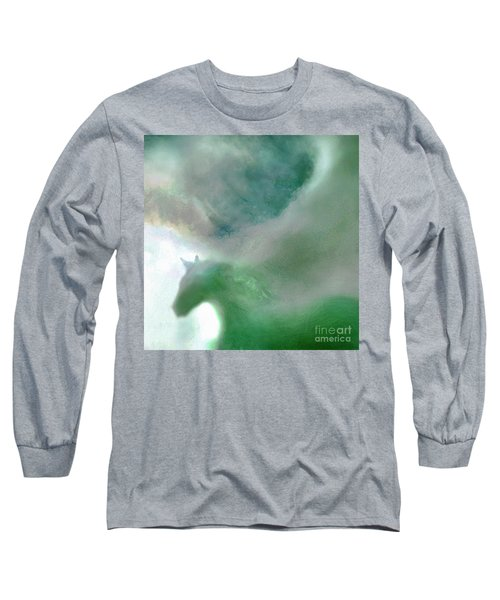 Long Sleeve T-Shirt featuring the photograph Sea Glass Storm by Michael Rock