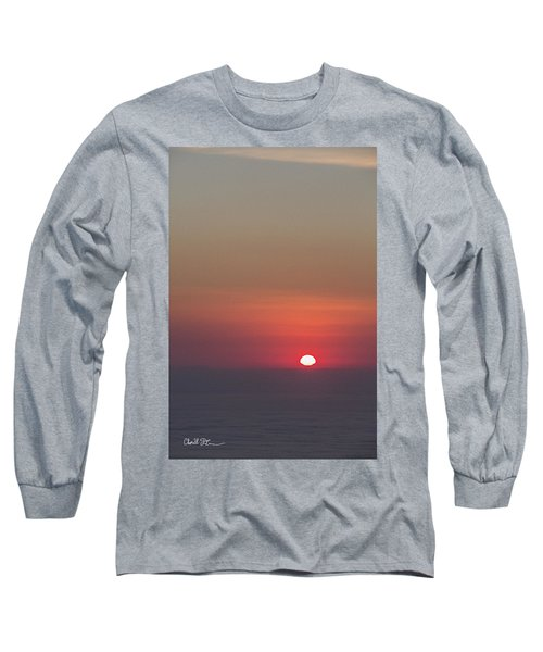 Sea Of Clouds Sunset Long Sleeve T-Shirt