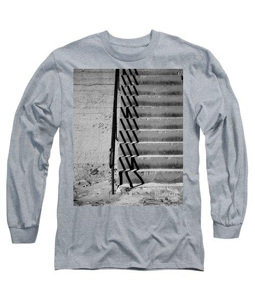 Sea Wall Steps Long Sleeve T-Shirt