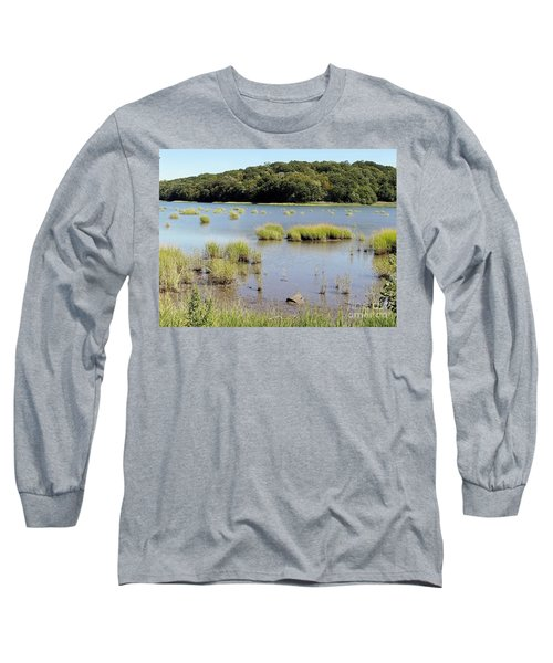 Long Sleeve T-Shirt featuring the photograph Seagrass by Ed Weidman