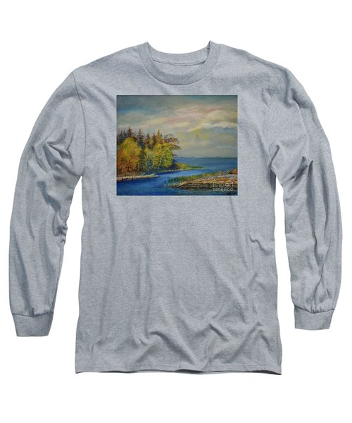 Seascape From Hamina 3 Long Sleeve T-Shirt