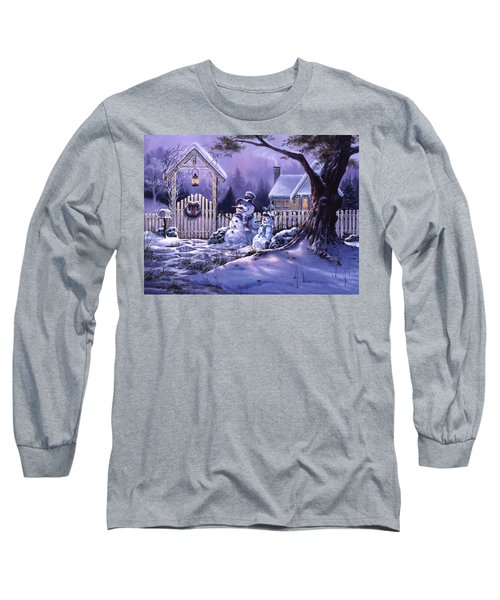 Season's Greeters Long Sleeve T-Shirt by Michael Humphries