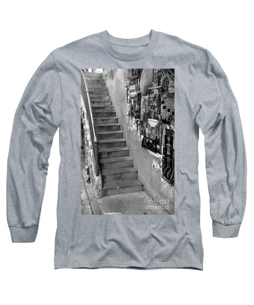 Seattle Stairs Long Sleeve T-Shirt