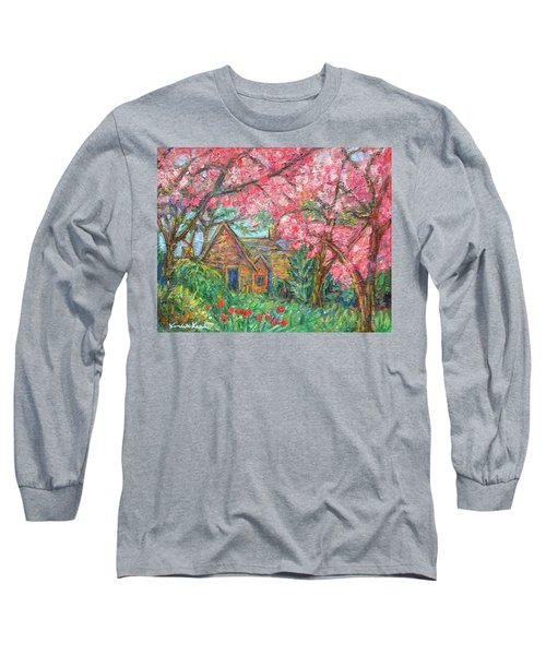Secluded Home Long Sleeve T-Shirt by Kendall Kessler